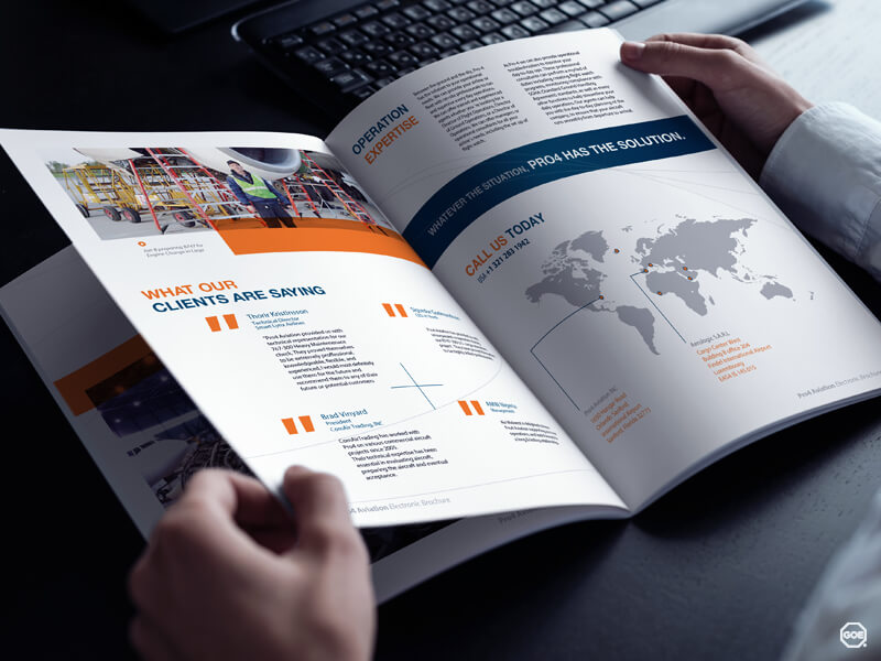 Arlington, Washington‎ Brochure Design High Quality GOE